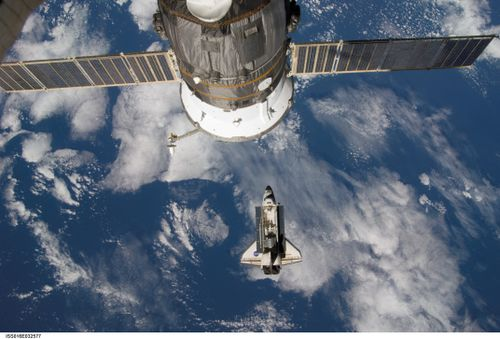 Shuttle docking